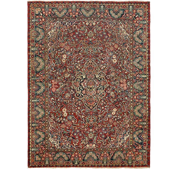 312cm x 427cm Meshkabad Persian Rug