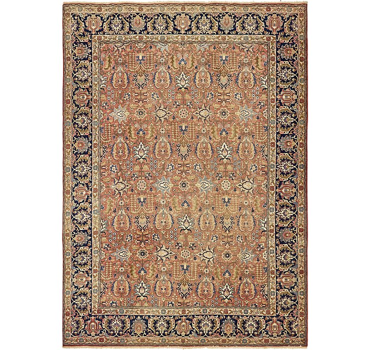 8' x 11' 5 Heriz Persian Rug