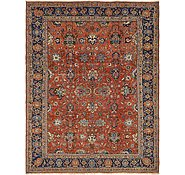 Link to 8' 7 x 11' 3 Heriz Persian Rug