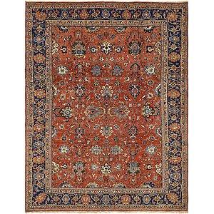 HandKnotted 8' 7 x 11' 3 Heriz Persian Rug