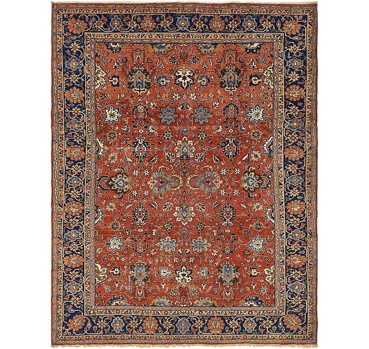 8' 7 x 11' 3 Heriz Persian Rug
