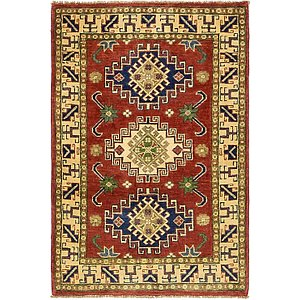 Unique Loom 2' 8 x 4' Kazak Rug