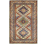 Link to HandKnotted 4' x 6' 6 Kazak Rug