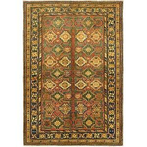Unique Loom 4' 3 x 6' 3 Kazak Oriental Rug