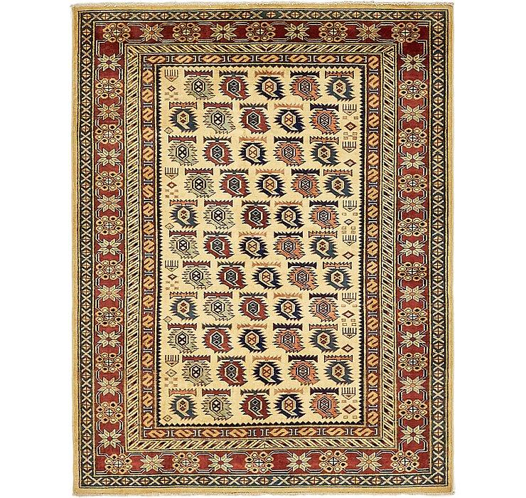 4' 2 x 5' 3 Kazak Oriental Rug