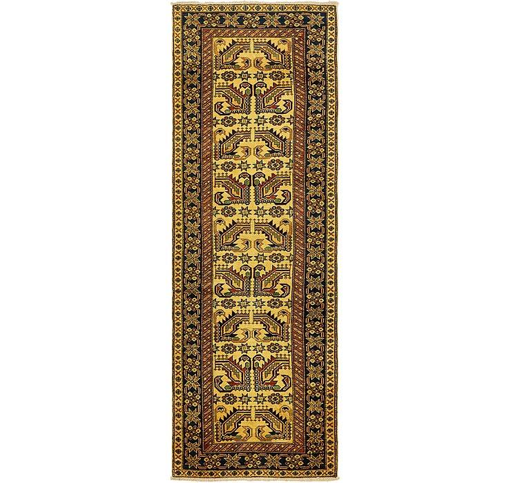 2' 9 x 8' 2 Kazak Oriental Runner Rug