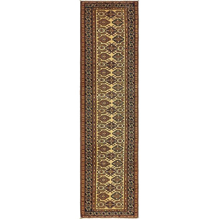 2' 9 x 10' 10 Kazak Oriental Runner Rug