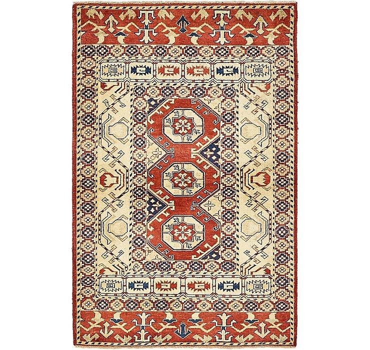 3' x 4' 9 Kazak Oriental Rug