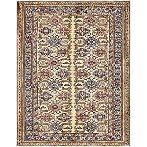 4' 7 x 6' Kazak Oriental Rug
