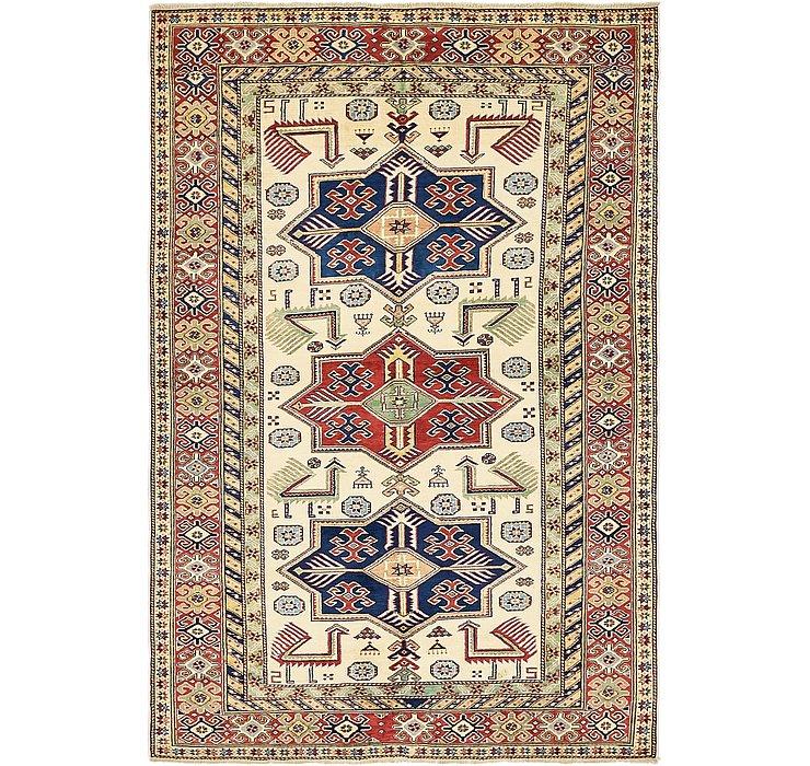 4' 9 x 7' Kazak Oriental Rug