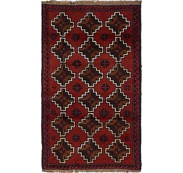86x142 Balouch Rug