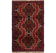 Link to 2' 10 x 4' 6 Balouch Persian Rug