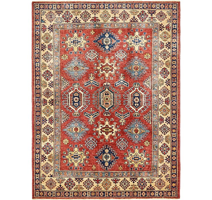 5' x 6' 7 Kazak Oriental Rug