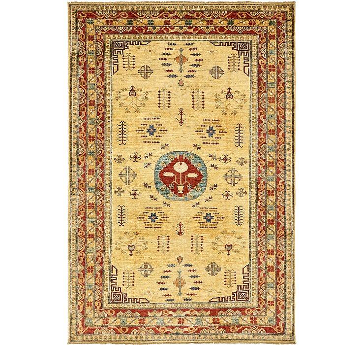 6' 4 x 9' 6 Kazak Oriental Rug