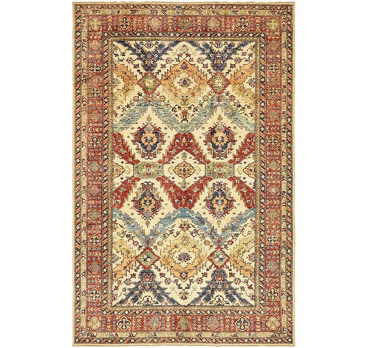 6' 8 x 10' 4 Kazak Oriental Rug