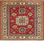 Link to 5' 9 x 6' Kazak Square Rug
