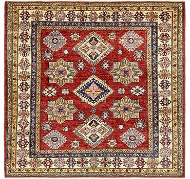 183x183 Kazak Rug