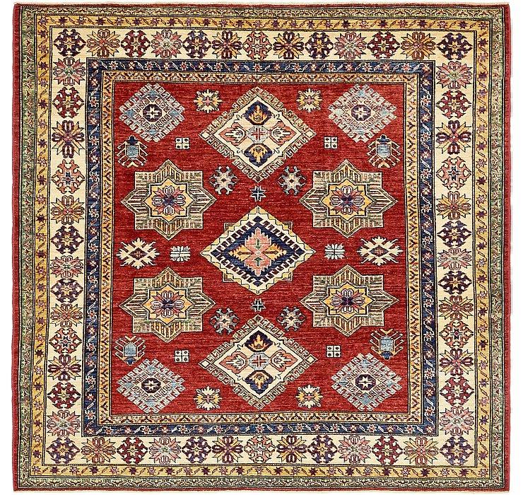 6' x 6' Kazak Square Rug