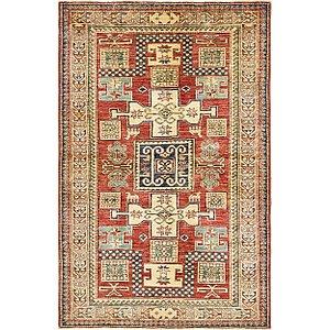 4' 2 x 6' 6 Kazak Oriental Rug