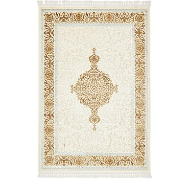160x239 Carved Aubusson Rug