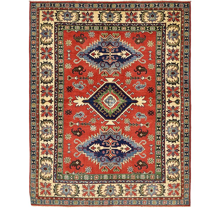 5' 10 x 7' 6 Kazak Oriental Rug