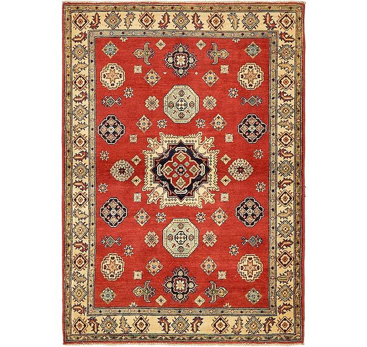 4' 2 x 5' 10 Kazak Oriental Rug