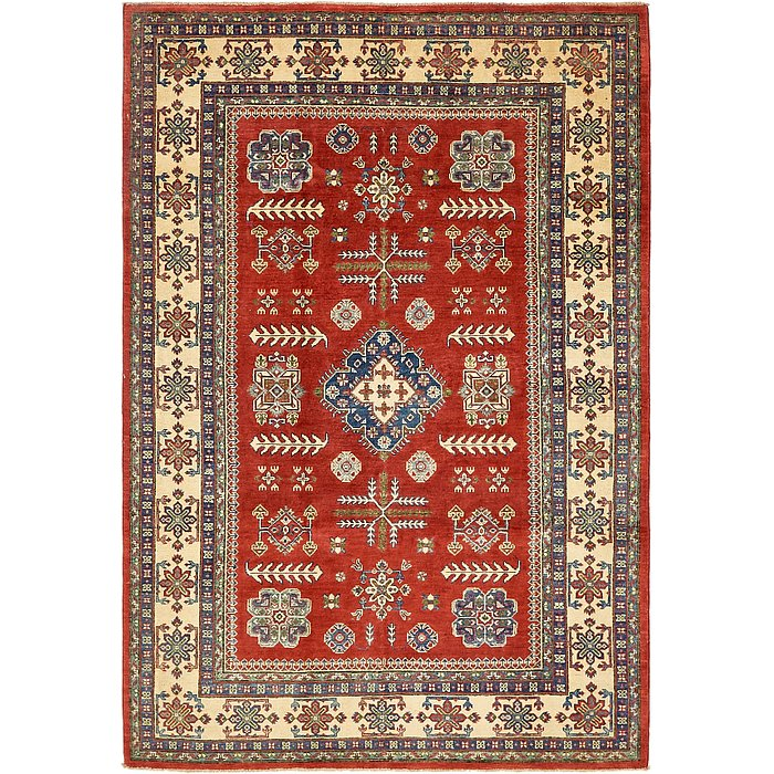 5' 10 x 8' 9 Kazak Oriental Rug