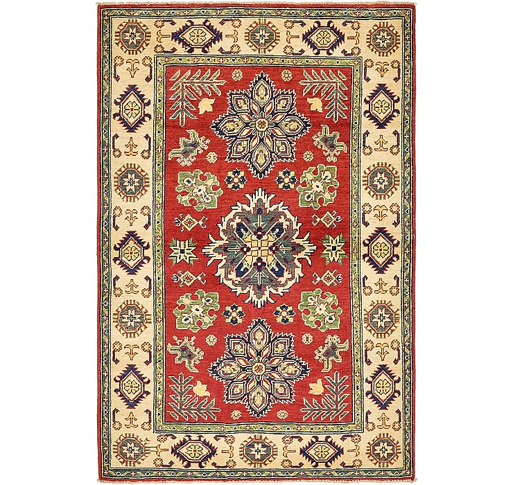 4' x 5' 10 Kazak Oriental Rug