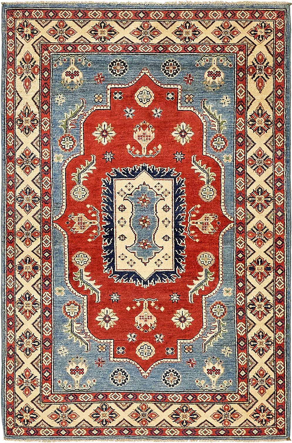 Red 4 X 6 3 Kazak Oriental Rug Oriental Rugs Handknotted Com
