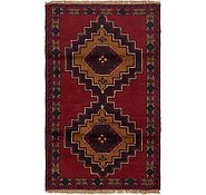 Link to 85cm x 142cm Balouch Persian Rug