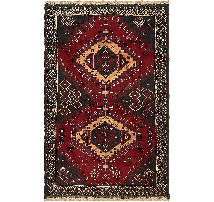 HandKnotted 2' 10 x 4' 6 Balouch Persian Rug
