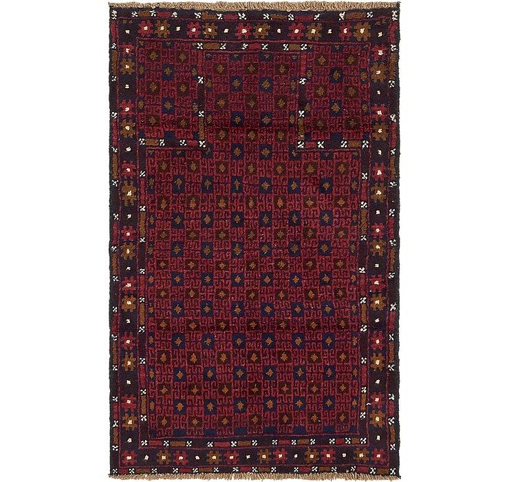 3' x 4' 10 Balouch Persian Rug