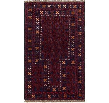 84x142 Balouch Rug