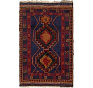 Link to 3' x 4' 5 Balouch Persian Rug