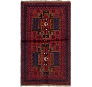 Link to 3' 5 x 6' Balouch Persian Rug
