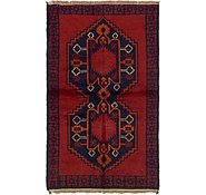 Link to 3' 5 x 5' 9 Balouch Persian Rug
