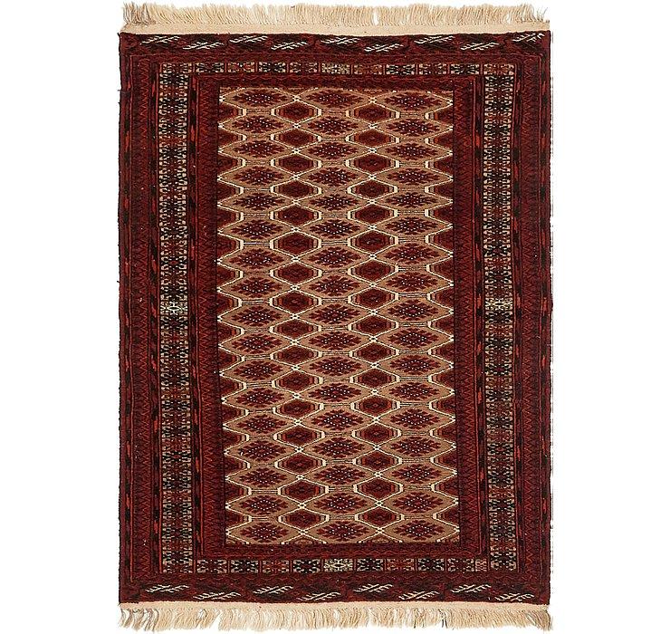 3' 6 x 4' 10 Bokhara Oriental Rug