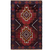 Link to 85cm x 137cm Balouch Persian Rug