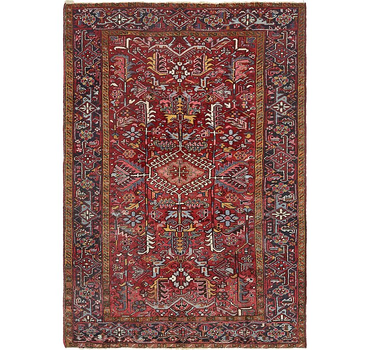 200cm x 287cm Heriz Persian Rug