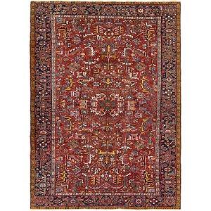 7' 8 x 10' 7 Heriz Persian Rug