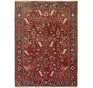Link to 7' 4 x 10' Heriz Persian Rug