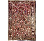 Link to 7' x 11' 2 Heriz Persian Rug