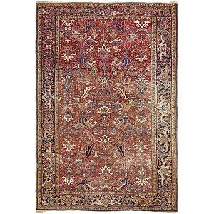 7' x 11' 2 Heriz Persian Rug