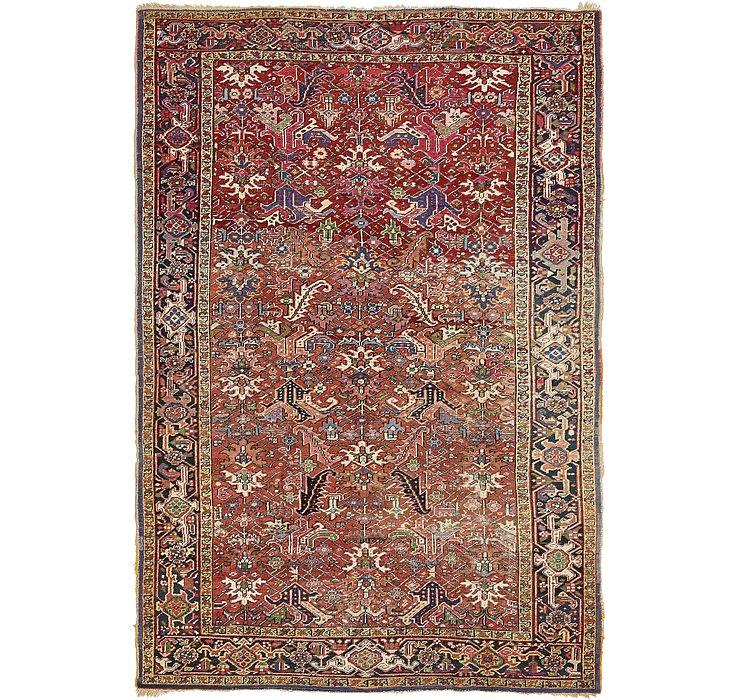 213cm x 340cm Heriz Persian Rug