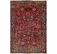 Link to 7' 7 x 11' 3 Heriz Persian Rug