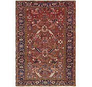 Link to 6' 8 x 9' 9 Heriz Persian Rug