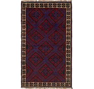 Link to 2' 8 x 4' 6 Balouch Persian Runner Rug