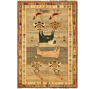 Link to 4' 9 x 6' 10 Ghashghaei Persian Rug