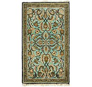 Link to 2' 9 x 3' Qom Persian Rug