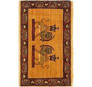 Link to 2' x 3' 3 Ghashghaei Persian Rug